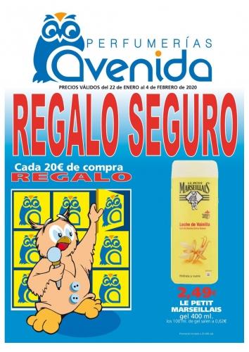 Perfumerías Avenida - Regalo seguro