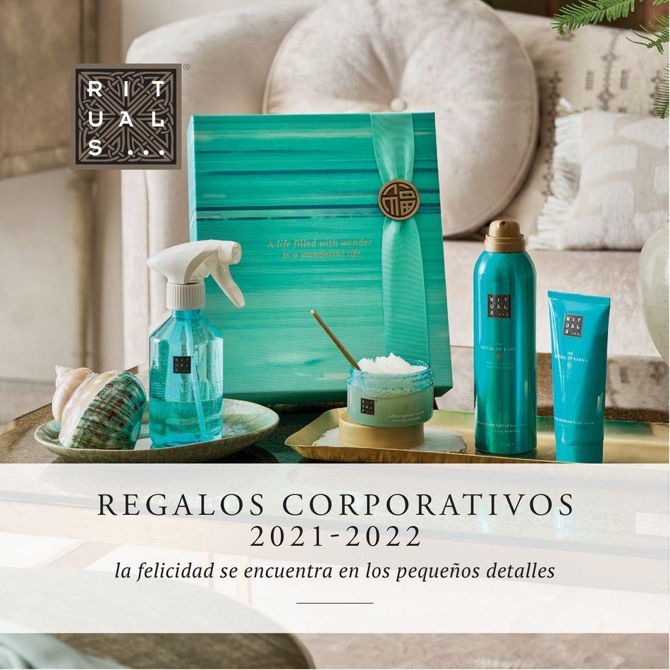 Rituals Regalos corporativos 2021/22