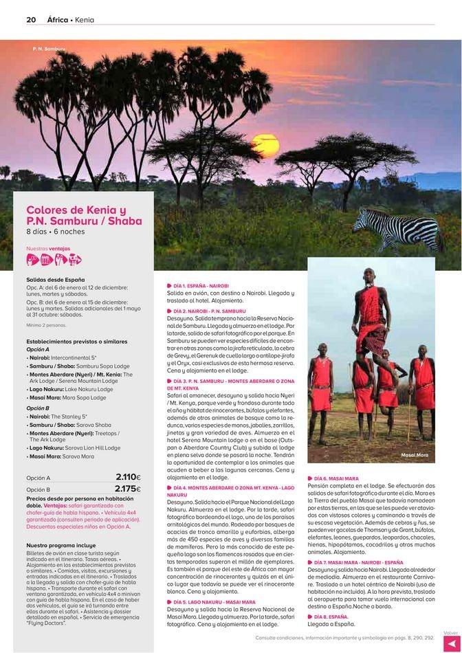 Viajes El Corte Inglés  África, Asia y Oceanía