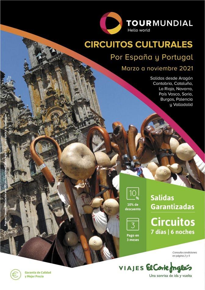 Viajes El Corte Inglés  Circuitos culturales zona Norte