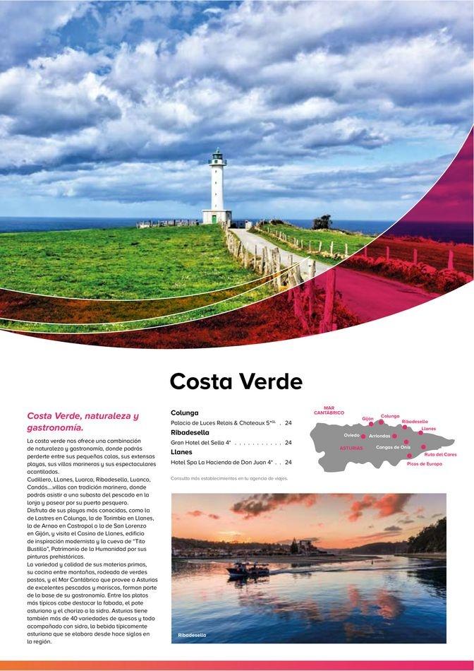 Viajes El Corte Inglés  Costas