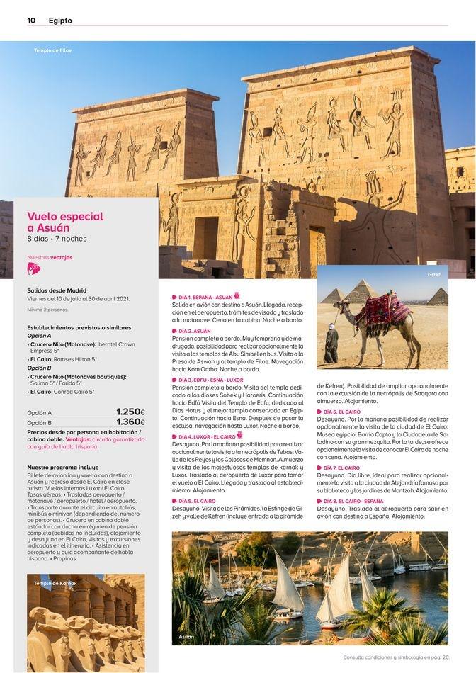 Viajes El Corte Inglés  Egipto