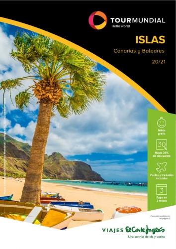 Viajes El Corte Inglés  Islas 2021