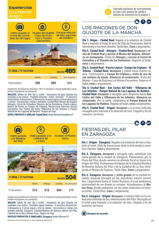 Viajes El Corte Inglés Club de Vacaciones - Andalucía